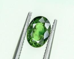 0.83 Crt Natural Chrome Tourmaline Faceted Gemstone.( AG 45)
