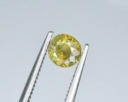 0.68 Crt Natural Sphene Faceted Gemstone.( AG 45)