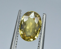 1.08 Crt Natural Chrysoberyl Faceted Gemstone.( AG 45)