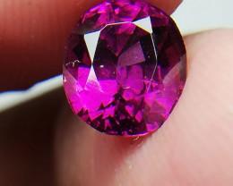 1.90 Carat Grape Garnet / purplish / Pink Garnet from Tanzania