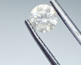 0.58ct  Faint Yellow Diamond , 100% Natural Untreated