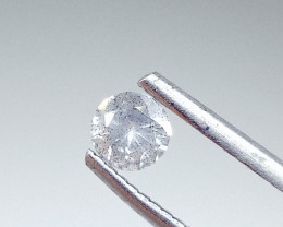 0.30ct  Fancy Light White Gray Diamond , 100% Natural Untreated