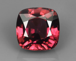 RARE 8.00CT 10mm FLAWLESS RASPBERRY COLOR NATURAL ZIRCON
