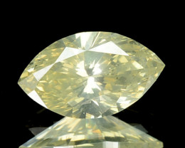 0.43 Cts Natural Nice Yellow Diamond Marquise Africa