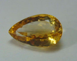 11.45 CTS FLAWLESS SPARKLING NATURAL  CITRINE