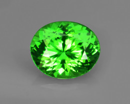 1.10CT FLAWLESS TSAVORITE GARNET - Master Cut for FULL FIRE!