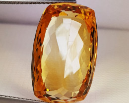 """14.35 ct """"Collective Gem"""" Exclusive Oval Cut Natural Citrine"""