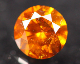 0.56Ct Natural Vivid Fancy Orange Diamond E2306