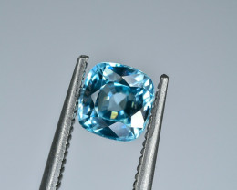 1.34 Crt Natural Zircon Faceted Gemstone.( AG 46)