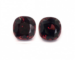 Natural Unheated Burma Spinel Pair|Loose Gemstone|New