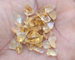 Natural Citrine Rough Gemstone Parcel VA5410