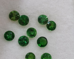 Chrome Tourmaline 2.5mm 10 pcs Lot(SKU 86)