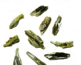 Amazing Shapes of Epidote  Crystals 130 Cts-Pakistan
