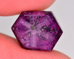 Rare 4.20 Ct Natural Corundum Sapphire Trapiche. ATT2