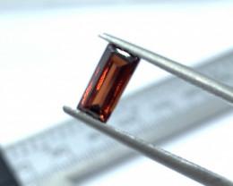 IPGTL Certified Garnet Loose Gemstone - 0.85 carats - Cut Octa Mixed