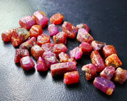 178 Ct Unheated ~ Natural Ruby Rough Lot
