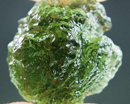 Natural Moldavite - Boulder shape