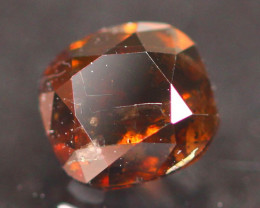 0.53Ct Natural Vivid Cognac Fancy Diamond E2610