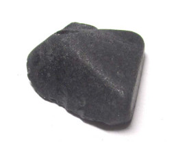 25.65cts Part of a Natural Black Spinel Crystal