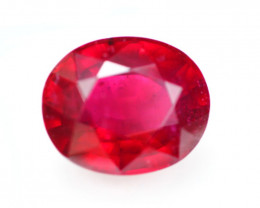 10.24Ct Blood Red Color Ruby Oval Cut Lot LZ1