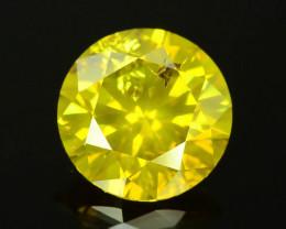AIG~Cert~1.57ct Natural Diamond Vivid  Yellow
