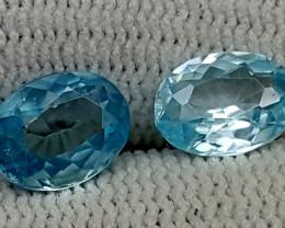 2.70CT BLUE ZIRCON  BEST QUALITY GEMSTONE IGC86