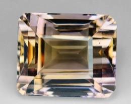 17.83 Ct Natural Ametrine Top Cutting Top Luster Gemstone. AM 08