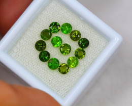 2.45ct Natural Chrome Diopside Round Cut Lot P235