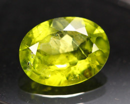 3.04ct Green Peridot Oval Cut Lot GW3801