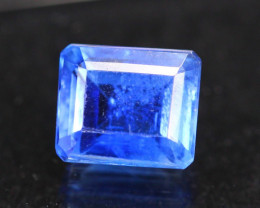 2.86ct Natural Blue Kyanite Octagon Cut Lot P268