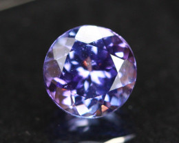 1.81ct Violet Blue Tanzanite Round Cut Lot GW3812