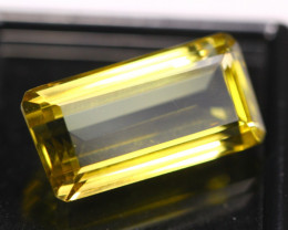 14.34Ct Lemon Quartz Octagon Cut Lot LZ2504
