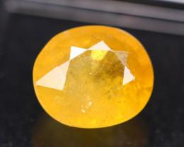 7.01Ct Yellow Sapphire Oval Cut Lot LZ2507
