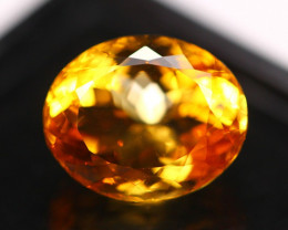 6.93Ct Yellow Citrine Oval Cut Lot LZ2517