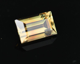 1.43CT ELECTRIC GOLDEN with Hints of COPPER FALL 100% Natural Tourmaline