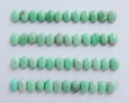 Tiny Turquoise ,Handmade Gemstone ,Turquoise Cabochons ,Lucky Stone C610