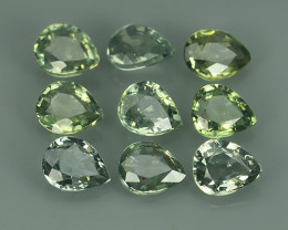 3.40 Cts Natural Intense Beautiful Green Sapphire Pear Shape Parcel!!!
