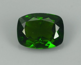 1.40 CTS WOW!! NATURAL ULTRA RARE CHROME TOP GREEN DIOPSIDE RUSSIA~