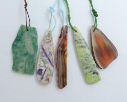 100ct Natural Crazy Lace Agate,African Jade,Agate,Serpentine ,Purple Lace A