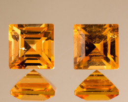 Yellow Garnet Spessartine 1.12 ct GPC Lab