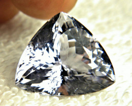 26.25 Carat Trillion VVS Purple / Blue Spodumene - Gorgeous