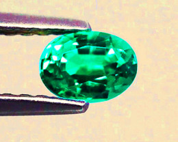1.32 ct Zambian Emerald Certified Beautiful Top Stone!