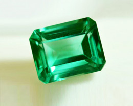 1.76 ct Top Zambian Emerald Certified!