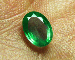 1.20 ct Magnificent Top Zambian Emerald Certified!