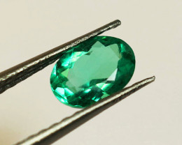 1.01 ct Beautiful Top  Emerald Certified!