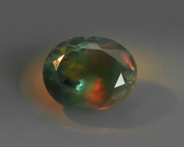 .82CT BLUE-GREEN to ORANGE-RED Natural ALEXANDRITE