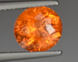 3.44CT NEON FANTA MANDARIN GARNET with FULL BRILLIANCE