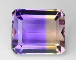 5.40 CT BOLIVIAN AMETRINE TOP CLASS LUSTER GEMSTONE AT11