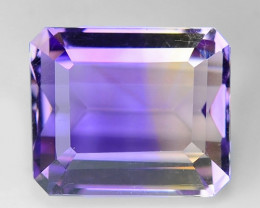 5.39 CT BOLIVIAN AMETRINE TOP CLASS LUSTER GEMSTONE AT21