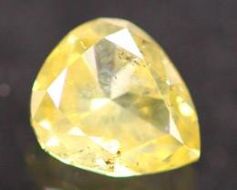 0.33Ct Natural Yellow Fancy Diamond B2611